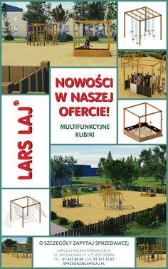 Multifunkcjonalne kubiki na plac zabaw #larslaj #playground #kubik #placzabaw #dladzieci #inspiracje Larp