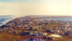 Barrow, Alaska. The northernmost city in the USA