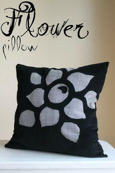 Dragonfly Designs: Flower Pillow