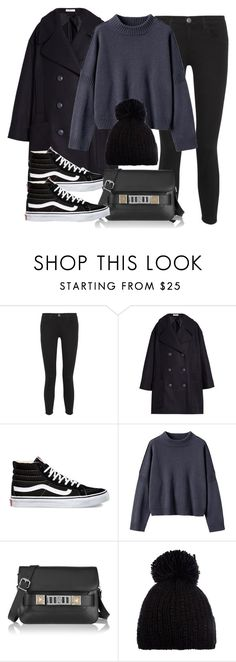 """""""Sin título #11825"""" by vany-alvarado ❤ liked on Polyvore featuring Current/Elliott, J.W. Anderson, Vans, Toast, Proenza Schouler and Barts"""