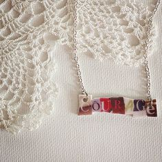 Courage Necklace,