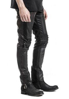 K-145 - Spodnie z ekoskóry - Punk Rave