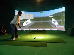 golf simulator - Google Search