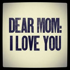 I really miss my MOM....love You Mom♥