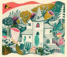 Melissa Castrillon  fantasy house - both ominous and wonderful