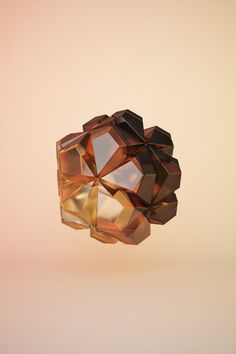 Flower Icosahedron by Anton Woll Söder, via Behance