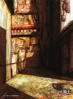Sidonia no Kishi - Nihei Tsutomu - Image - Zerochan Anime Image Board Knights Of Sidonia, Image Boards, Art Pictures, Illustration, Sci Fi, Scenery, Gallery, Places, Anime