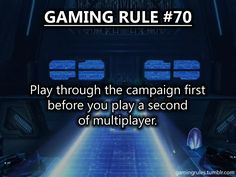"""Gaming Rules to bad so many kids never even play the campaign. I still hear kids screaming out """"what the hell is that?"""" while playing horde in Gears 3, three years later?"""