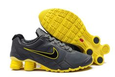 release date c3979 fdf2c Nike Shox Turbo+ 12 Männerschuhe Grau Gelb Nike Shoes Cheap, Nike Shox Shoes,  Nike