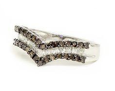 Chocolate Diamonds v ring