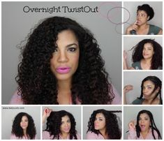 Give yourself a twistout overnight with this easy tutorial.