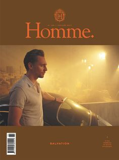 Tom Hiddleston on the cover of Homme Magazine. (Via precursorpress) Source: http://www.readpoint.com/previssues.aspx?id=407976