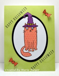 NJ Stamping Queen: Purr-fect Halloween for August Stamp of the Month Blog Hop