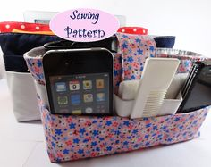 sewing pattern for purse organizer..