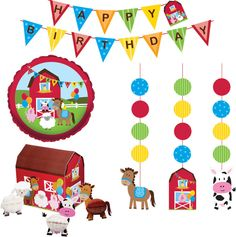 Farmhouse Fun Party Decor Kit