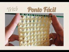 Ponto Fácil em Tricô 17 - YouTube Ladybug Crafts, Knitting Help, Weaving, Make It Yourself, Stitch, Youtube, Blog, Diy, Videos