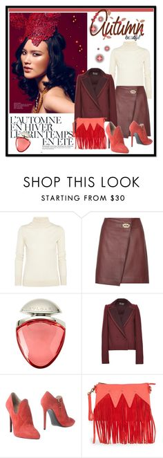 """my style"" by gasteovska-t ❤ liked on Polyvore featuring The Row, Reiss, Été Swim, Bulgari, Zac Posen, Ines Della Rovere London, Urban Originals, oxblood, polyvoreeditorial and PolyvoreNYFW"