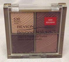 Revlon Beyond Natural Cream To Powder Eye Shadow Plumberry Prune 530 #Revlon