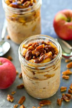 Caramelized apples a