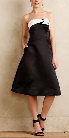 tuxedo midi dress