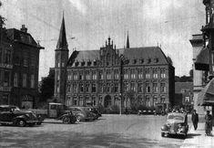 Dagelijks leven in Utrecht - 1939   Mariaplaats met zicht op het Ziekenhuis St.-Joannes de Deo (Utrecht in woord en beeld, HUA)