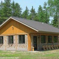 Cordwood Log Cabin Building Blog