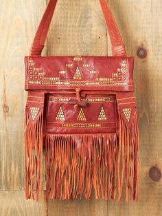 Shop Free People's beautiful boho bags, fringe purses, vegan totes, and more. Accessorize your outfit with a statement handbag that you could carry forever! Fringe Purse, Fringe Bags, Boho Bags, Bohemian Bag, Hippie Bags, Bohemian Fashion, Gypsy Boots, Ethnic Bag, Leather Fringe