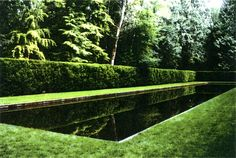 Reflecting Pool, Bloedel Reserve, by Richard Haag.