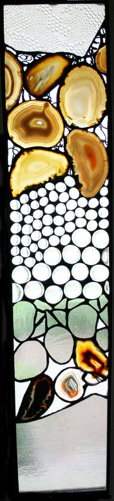 Beautiful stained glass panel.