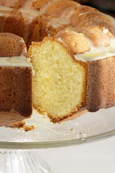 Cardamom Pound Cake with Orange Glaze | The Spice Hunter