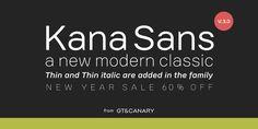 Kana Sans - Webfont & Desktop font « MyFonts