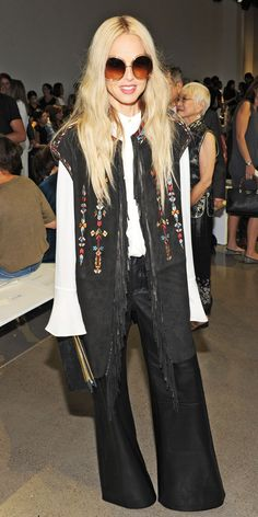 See the Celebrities Who Sat Front Row at Spring/Summer 2016 Fashion Shows - Rachel Zoe - from InStyle.com