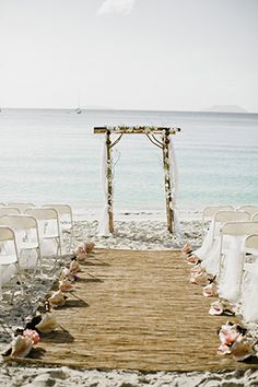 Gorgeous Caribbean wedding on the island of St. John Photos by: elishaorin.com