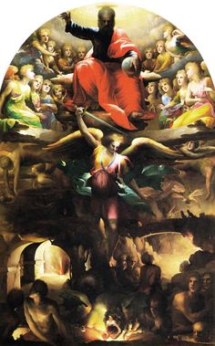 Cacciata angeli ribelli  D. Beccafumi