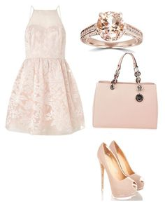 """""""Untitled #106"""" by analis1118 ❤ liked on Polyvore featuring Lipsy, MICHAEL Michael Kors and Bliss Diamond"""