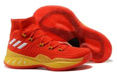best loved fb42e 71ebd Original adidas Crazy Explosive 2017 Primeknit All-Star Red Yellow -  Mysecretshoes New Adidas Shoes