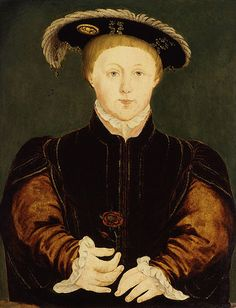 Edward VI by Hans Holbein the Younger