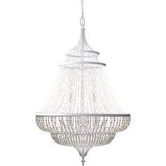 mod beaded chandelier