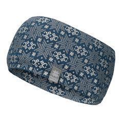Morild Glitre pannebånd med refleks, blåbær-blå