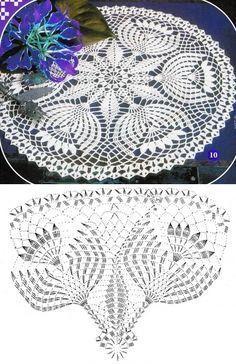 Captivating Crochet a Bodycon Dress Top Ideas. Dazzling Crochet a Bodycon Dress Top Ideas. Filet Crochet, Crochet Doily Diagram, Crochet Flower Patterns, Crochet Art, Thread Crochet, Easy Crochet, Crochet Flowers, Crochet Shawl, Crochet Tablecloth Pattern