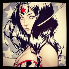A Wonder Woman commission i did for my friend #wonderwoman #dccomic #copic