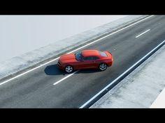 Realistic Road 3D Studio Max - YouTube