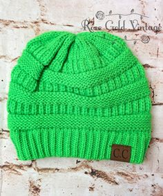 CC Beanie Hats - 33 colors to choose from! – Rose Gold Vintage