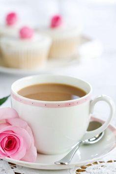 кофе и роза