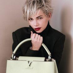 michelle williams louis vuitton | Michelle Williams poses for Louis Vuitton Handbags | The Luxury Travel ...