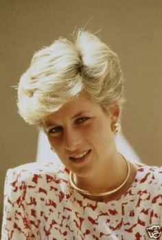 Diana in the Middle East 1986