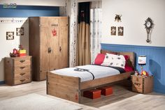Shop Zoomie Kids at AllModern for a modern selection and the best prices. Bedroom Sets, Kids Bedroom, Pirate Bedroom, All Modern, Home Remodeling, Toddler Bed, House, Furniture, Black