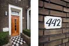 Jaren30woningen.nl   Karakteristieke entree van een jaren 30 woning