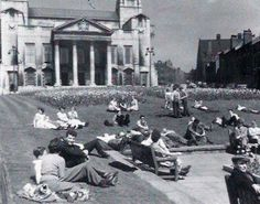 May 1952 in what is now Millennium Square-Leeds,Yorkshire