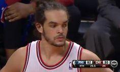 Joakim Noah Triple-Double 23 points, 21 rebounds and 11 blocks  Bulls win Sixers 93-82  Minnesota Timberwolves 94-116 LA Lakers